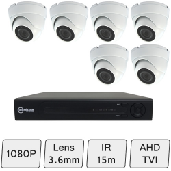 Discreet Dome Camera Kit | CCTV Kit | Discreet Domes