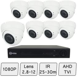 Advance Eyeball Dome Camera Kit | CCTV Kit