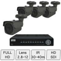 Full HD Mid-Range Box Camera System | CCTV System