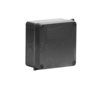 Junction Box (Black) - Terminate Camera Connections