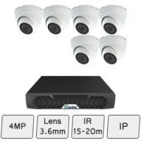 Discreet Dome Camera Kit   IP CCTV Kit