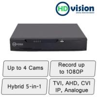 HD-Vision DVR   4 Channel Hybrid DVR Recorder