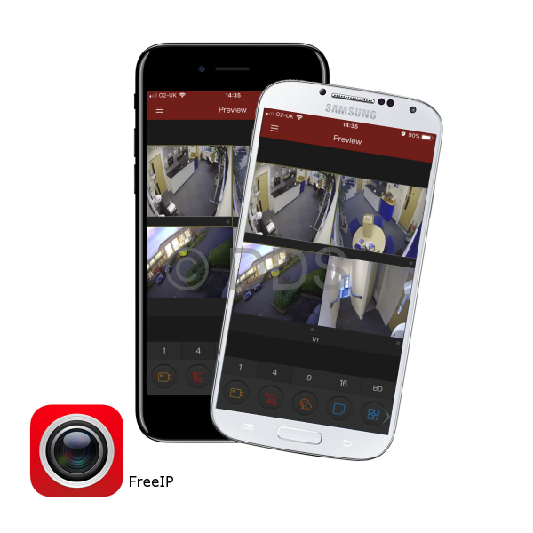 download the freeip app, available for ios and android