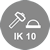 IK10 rated (vandal resistant)