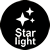 Supports Starlight technology