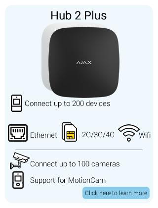 Ajax Wireless Hub 2 Plus