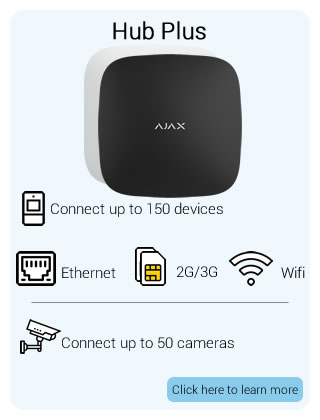 Ajax Wireless Hub Plus