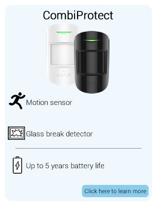 Ajax Wireless CombiProtect Detector
