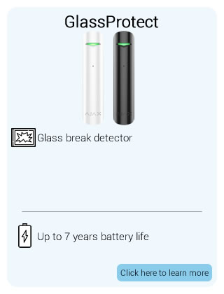 Ajax Wireless GlassProtect Detector