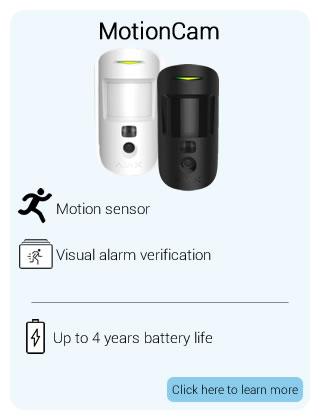 Ajax Wireless MotionCam Detector