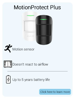 Ajax Wireless MotionProtect Plus Detector
