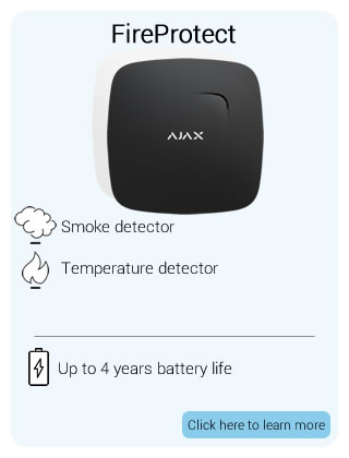 Ajax Wireless FireProtect