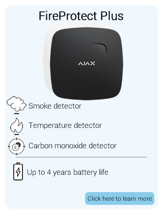 Ajax Wireless FireProtect Plus