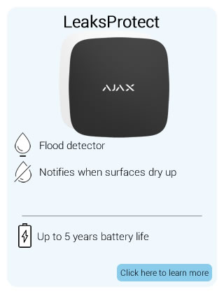 Ajax Wireless LeaksProtect