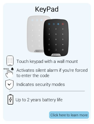 Ajax Wireless KeyPad