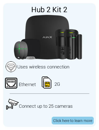Ajax Wireless Hub2 Kit 2