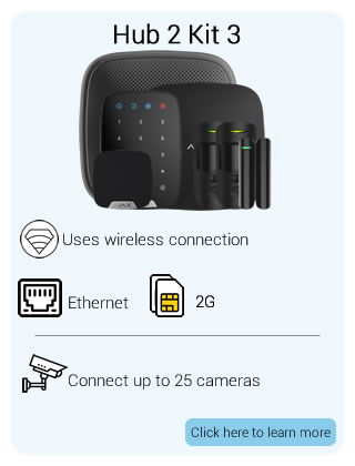Ajax Wireless Hub2 Kit 3