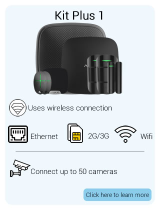 Ajax Wireless Starter Kit Plus 1