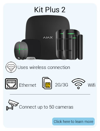 Ajax Wireless Starter Kit Plus 2