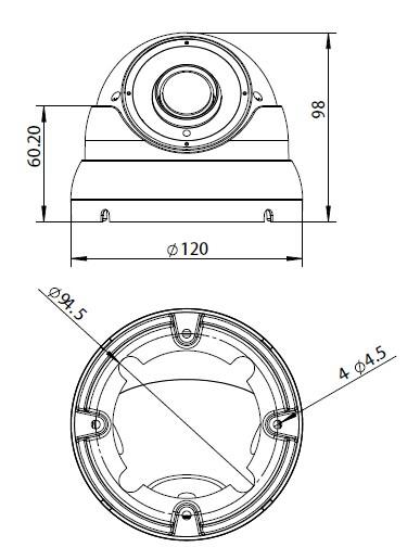 Advance Eyeball Dome Security Camera