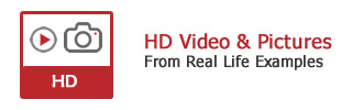Video footage and pictures of HD CCTV systems