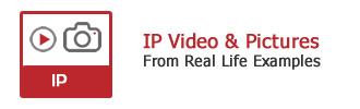 Video footage and pictures of IP CCTV systems