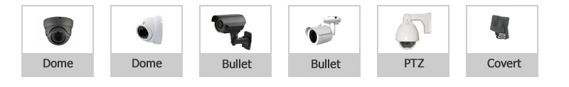 Types of IP Security Cameras