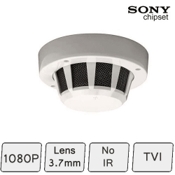 Covert CCTV | Smoke Detector Colour TVI 1080P CCTV Camera