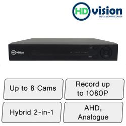 HD-Vision DVR | 8 Channel DVR Recorder