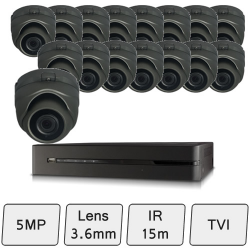 Discreet Dome Camera Kit | HD CCTV Kit