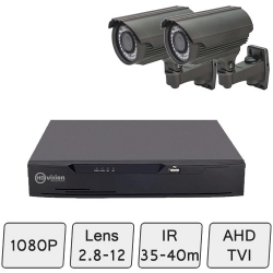 Mid-Range Box Camera Kit | Day Night Security Camera System