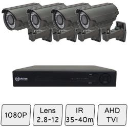 Mid Range HD Camera System  | Day Night Security Cameras