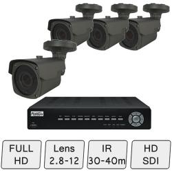 Full HD Mid-Range Box Camera System   CCTV System