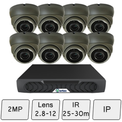 Eyeball Dome Camera Kit | IP CCTV Dome Kit