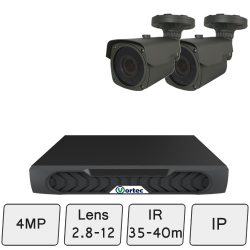 Long Range Security Camera System| IP CCTV Security Cameras