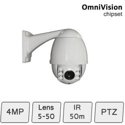 IP PTZ Camera (4MP, 10x Zoom)