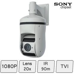 TVI-1080p Night Vision PTZ Security Camera