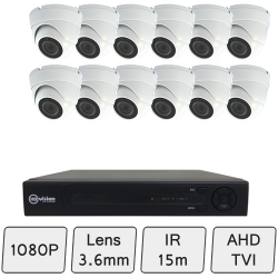 Discreet Dome Camera Kit | HD CCTV Kit