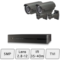 Mid Range Camera System | 5MP HD Security Cameras