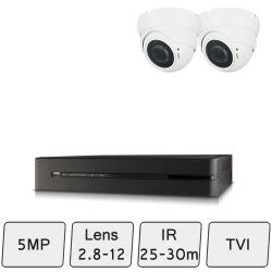 Eyeball Dome Camera Kit  | HD 5MP Camera Kit
