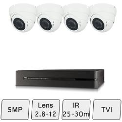 Eyeball Dome Camera Kit  | CCTV Kit
