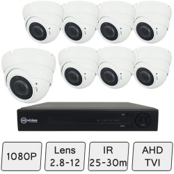 Advance Eyeball Dome Camera Kit | CCTV Kit