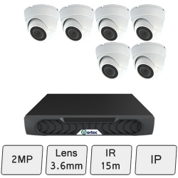 Discreet Dome Camera Kit | IP CCTV