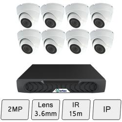 Discreet Dome Camera Kit   IP Security Camera Kit