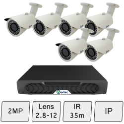 Day Night Camera Kit   IP Security Camera Kit