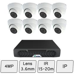 Discreet Dome Camera Kit | IP CCTV