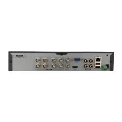 Rear Ports of Phoenix Hybrid 8 Camera DVR