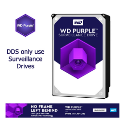 DDS only use Surveillance Hard Drives