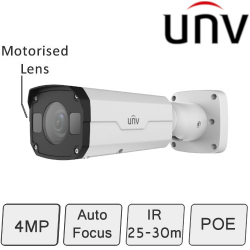 Auto Focus IP Camera (4MP, WDR, Motorised Lens)