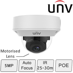 UNV IP Dome Camera (5MP, Starview, True WDR)